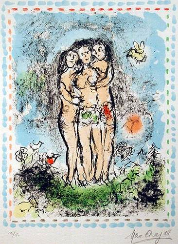 Chagall: Le Thora de David