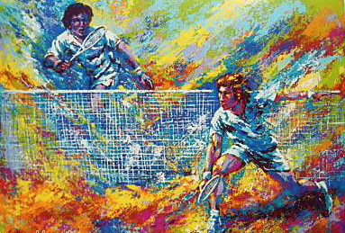 Mark King: Tennis Players