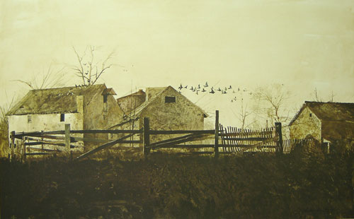 Andrew Wyeth: The Mill